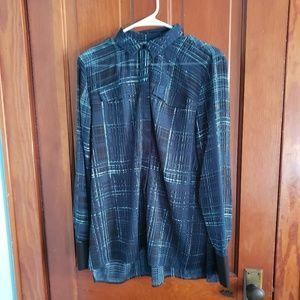 Vera wang button up shirt